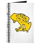 Yellow Spotted Frog Journal
