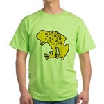 Yellow Spotted Frog Green T-Shirt