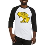 Yellow Spotted Frog Baseball Jersey