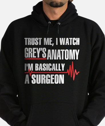 Greys Anatomy trust me Sweatshirt