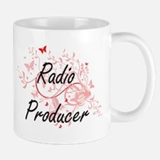 Radio Producer Artistic Job Design with Butte Mugs
