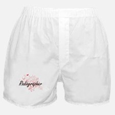 Radiographer Artistic Job Design with Boxer Shorts