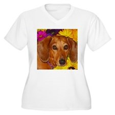 Doxie Flower T-Shirt