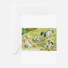 Papillons Greeting Cards