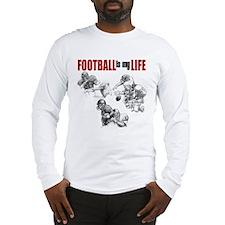 Football Is My Life Long Sleeve T-Shirt