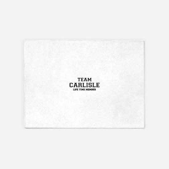 Team CARLISLE, life time member 5'x7'Area Rug