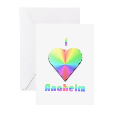 I Love Anaheim #1 Greeting Cards (Pk of 10)