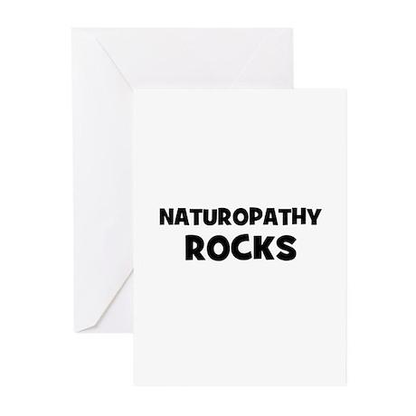 Naturopathy Rocks Greeting Cards (Pk of 10)