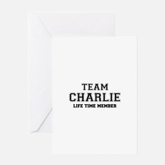 Team CHARLIE, life time member Greeting Cards