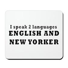 New York Language Mousepad