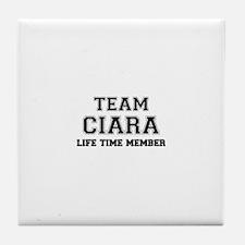 Team CIARA, life time member Tile Coaster