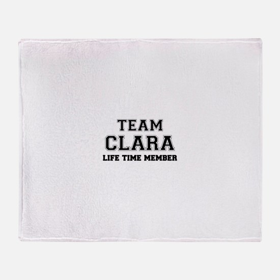 Team CLARA, life time member Throw Blanket