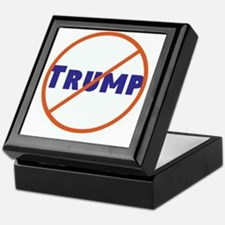 Anti Trump! No Trump Keepsake Box