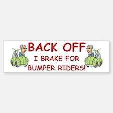 Funny Granny Bumper Bumper Bumper Sticker