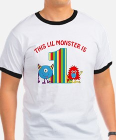 1st Birthday Monster T-Shirt