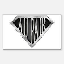 SuperAu Pair(metal) Rectangle Decal