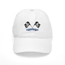 Trouble! (Pirate Flags) Baseball Cap