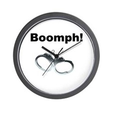 Boomph! Wall Clock