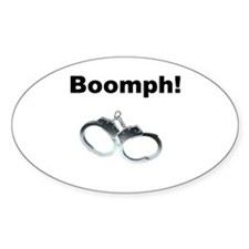 Boomph! Oval Decal