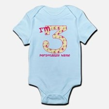 3rd Birthday Gifts for Kids Body Suit