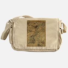 Vintage Savannah Georgia Civil War M Messenger Bag