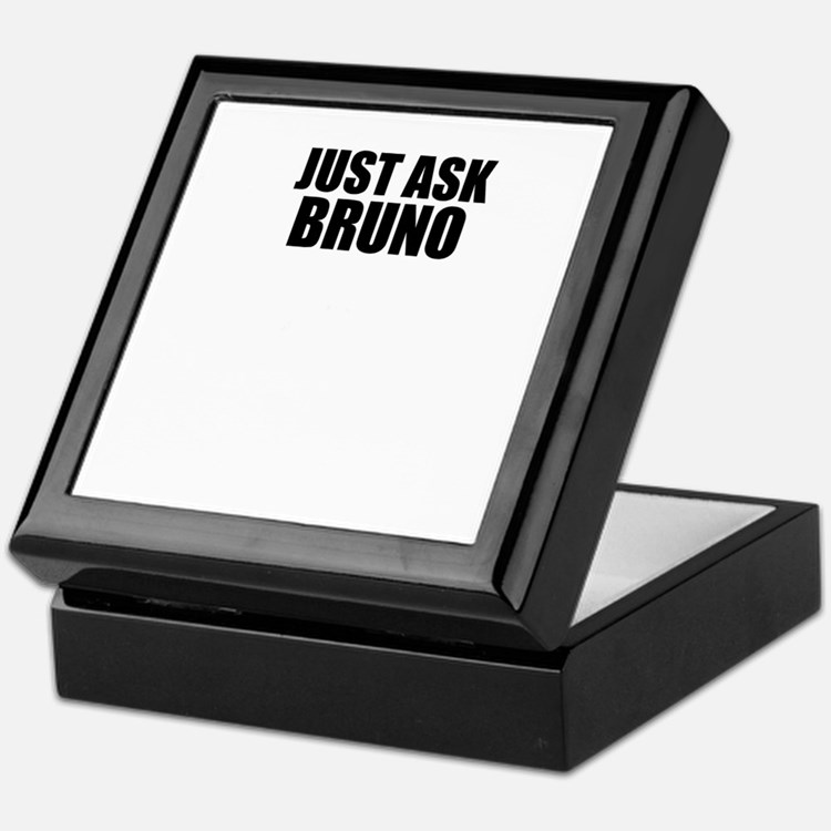 Just ask BRUNO Keepsake Box