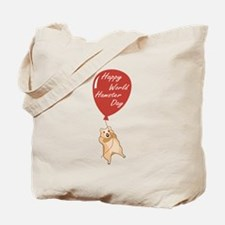 Happy World Hamster Day! 12th April Tote Bag
