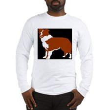 red collie Long Sleeve T-Shirt