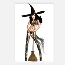 Witch Postcards (Package of 8)