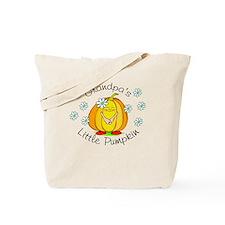 Grandpa's Little Pumpkin Tote Bag