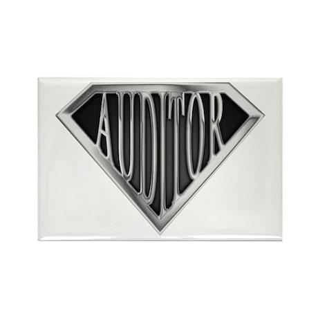 SuperAuditor(metal) Rectangle Magnet (10 pack)