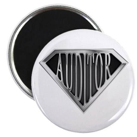 "SuperAuditor(metal) 2.25"" Magnet (100 pack)"