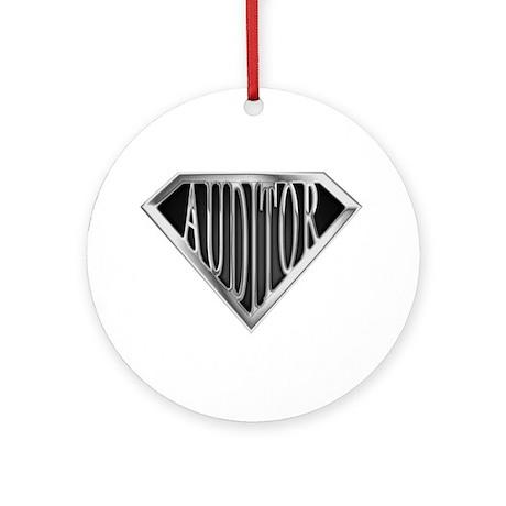SuperAuditor(metal) Ornament (Round)
