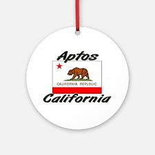 Aptos California Ornament (Round)