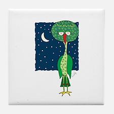 Goodnight Gooniebird Tile Coaster