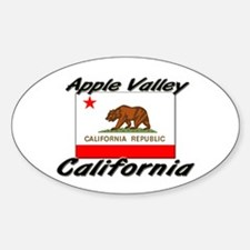 Apple Valley California Oval Decal