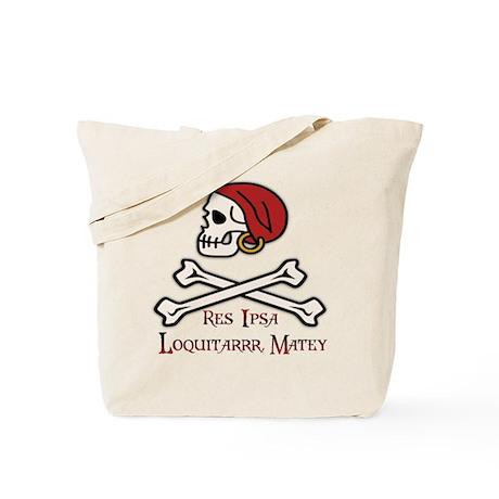 Pirate Law Tote Bag