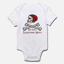 Pirate Law Infant Bodysuit