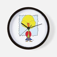 Got some brains Gooniebird Wall Clock