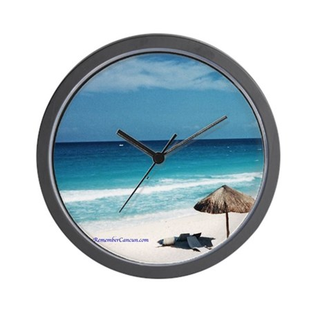 Remember Cancun Wall Clock
