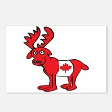 Adorable Canadian Moose Postcards (Package of 8)