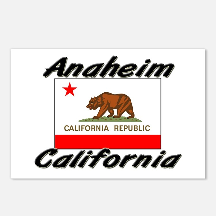 Anaheim California Postcards (Package of 8)