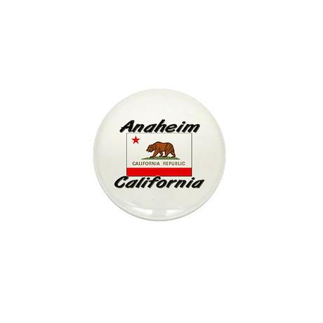 Anaheim California Mini Button