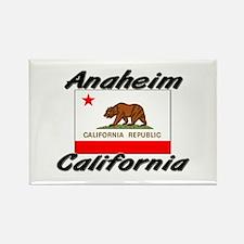 Anaheim California Rectangle Magnet
