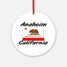 Anaheim California Ornament (Round)