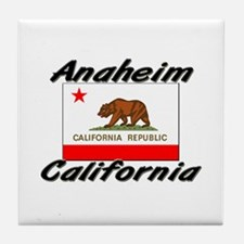 Anaheim California Tile Coaster