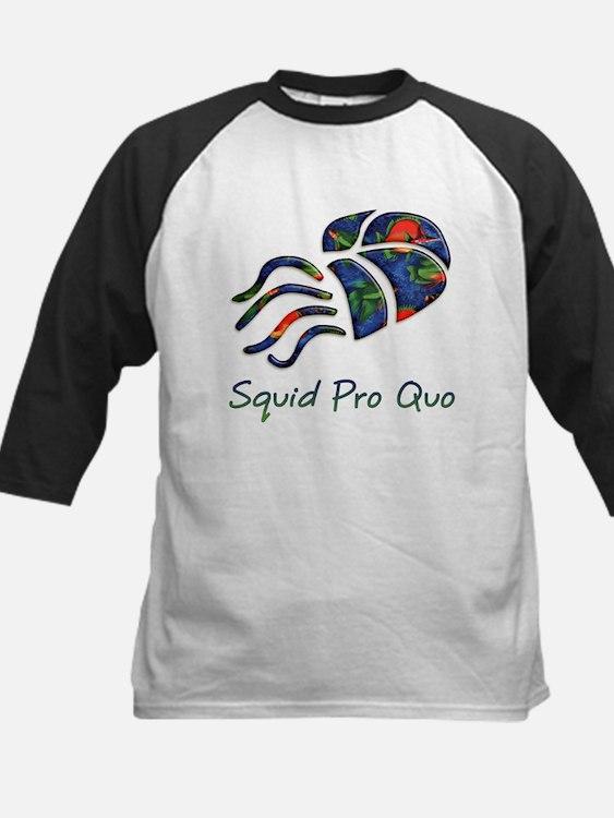 Squid Pro Quo Kids Baseball Jersey