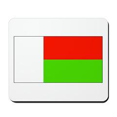 Madagascar Blank Flag Mousepad
