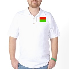 Madagascar Blank Flag T-Shirt