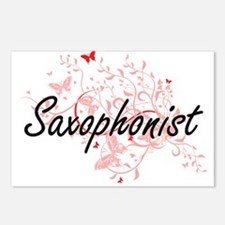 Saxophonist Artistic Job Postcards (Package of 8)